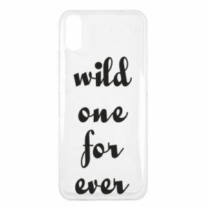 Etui na Xiaomi Redmi 9a Wild one for ever