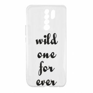 Etui na Xiaomi Redmi 9 Wild one for ever