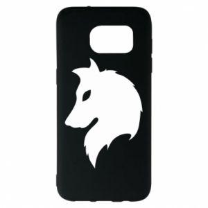 Samsung S7 EDGE Case Wolf Alpha
