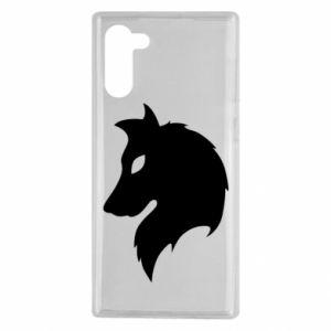 Samsung Note 10 Case Wolf Alpha