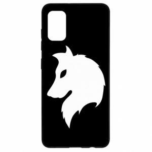 Samsung A41 Case Wolf Alpha