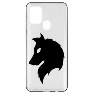 Samsung A21s Case Wolf Alpha