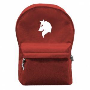Plecak z przednią kieszenią Wilk Alpha