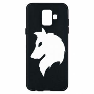 Phone case for Samsung A6 2018 Wolf Alpha