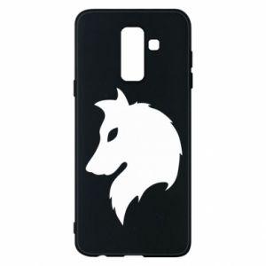 Phone case for Samsung A6+ 2018 Wolf Alpha