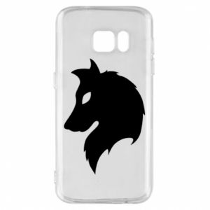 Phone case for Samsung S7 Wolf Alpha