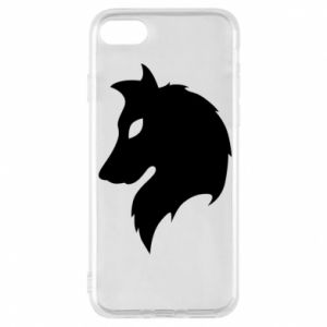 Phone case for iPhone 8 Wolf Alpha