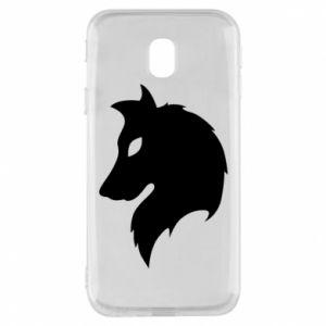 Phone case for Samsung J3 2017 Wolf Alpha
