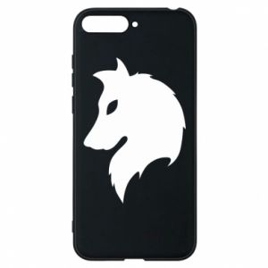 Phone case for Huawei Y6 2018 Wolf Alpha