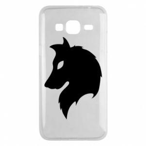 Phone case for Samsung J3 2016 Wolf Alpha