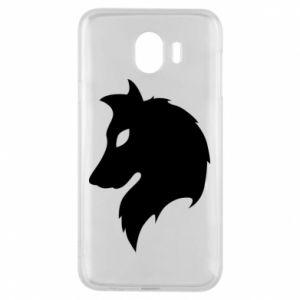 Phone case for Samsung J4 Wolf Alpha
