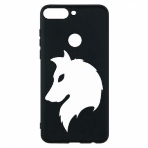 Phone case for Huawei Y7 Prime 2018 Wolf Alpha