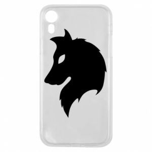 Phone case for iPhone XR Wolf Alpha