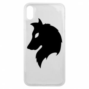 Phone case for iPhone Xs Max Wolf Alpha