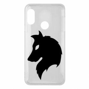 Phone case for Mi A2 Lite Wolf Alpha