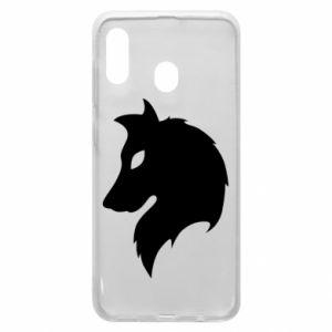 Phone case for Samsung A20 Wolf Alpha
