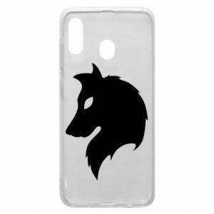 Phone case for Samsung A30 Wolf Alpha