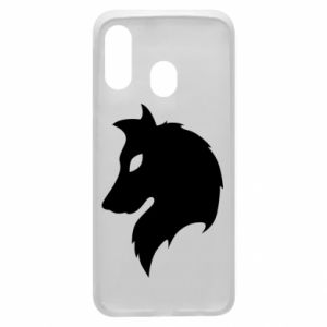 Phone case for Samsung A40 Wolf Alpha