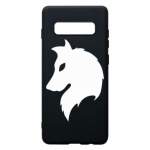 Phone case for Samsung S10+ Wolf Alpha
