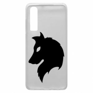 Phone case for Huawei P30 Wolf Alpha