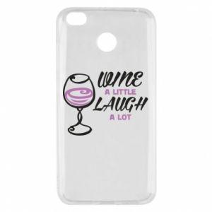 Etui na Xiaomi Redmi 4X Wine a little laugh a lot