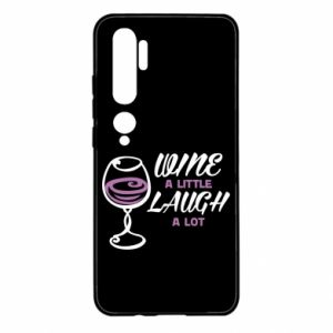 Etui na Xiaomi Mi Note 10 Wine a little laugh a lot
