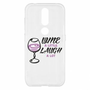 Etui na Nokia 4.2 Wine a little laugh a lot