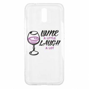 Etui na Nokia 2.3 Wine a little laugh a lot