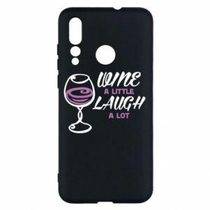 Etui na Huawei Nova 4 Wine a little laugh a lot