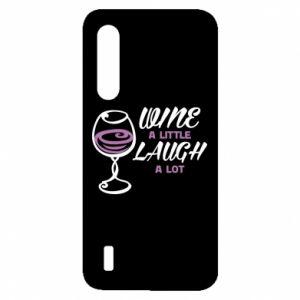 Etui na Xiaomi Mi9 Lite Wine a little laugh a lot