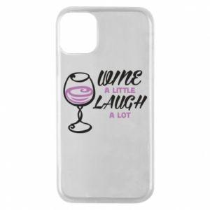 Etui na iPhone 11 Pro Wine a little laugh a lot