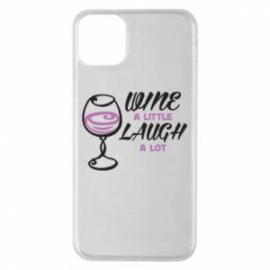 Etui na iPhone 11 Pro Max Wine a little laugh a lot