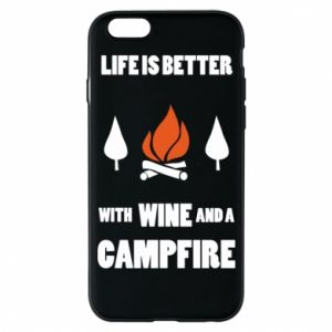 Etui na iPhone 6/6S Wine and a campfire