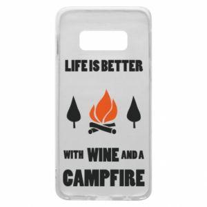 Etui na Samsung S10e Wine and a campfire