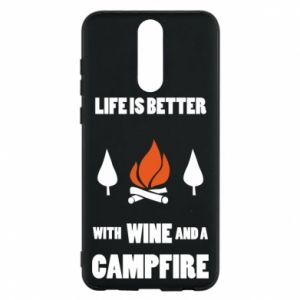Etui na Huawei Mate 10 Lite Wine and a campfire