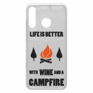 Etui na Huawei P30 Lite Wine and a campfire
