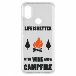 Etui na Xiaomi Mi A2 Wine and a campfire
