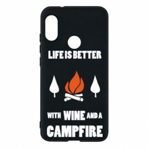 Etui na Mi A2 Lite Wine and a campfire