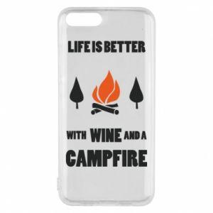 Etui na Xiaomi Mi6 Wine and a campfire