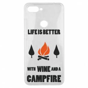 Etui na Xiaomi Mi8 Lite Wine and a campfire