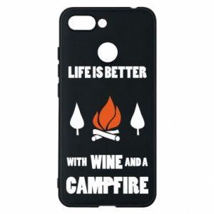 Etui na Xiaomi Redmi 6 Wine and a campfire