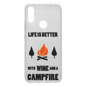 Etui na Xiaomi Redmi 7 Wine and a campfire