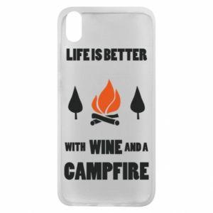 Etui na Xiaomi Redmi 7A Wine and a campfire