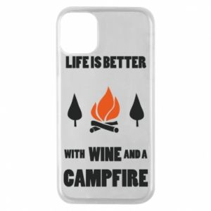 Etui na iPhone 11 Pro Wine and a campfire
