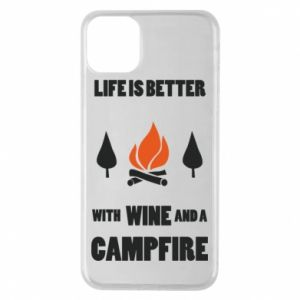 Etui na iPhone 11 Pro Max Wine and a campfire