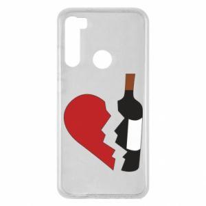 Etui na Xiaomi Redmi Note 8 Wine broke my heart