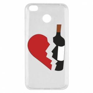 Etui na Xiaomi Redmi 4X Wine broke my heart
