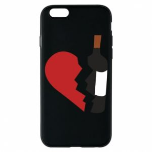 Phone case for iPhone 6/6S Wine broke my heart