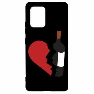 Etui na Samsung S10 Lite Wine broke my heart