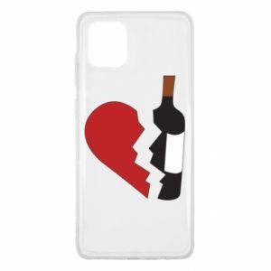 Etui na Samsung Note 10 Lite Wine broke my heart